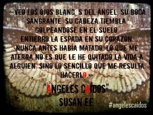 Ángeles caídos - Los ojos blancos del ángel