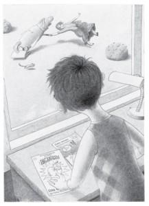 Flora y Ulises - Ilustraciones interiores 1