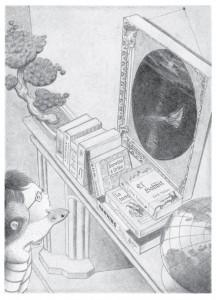 Flora y Ulises - Ilustraciones interiores 6