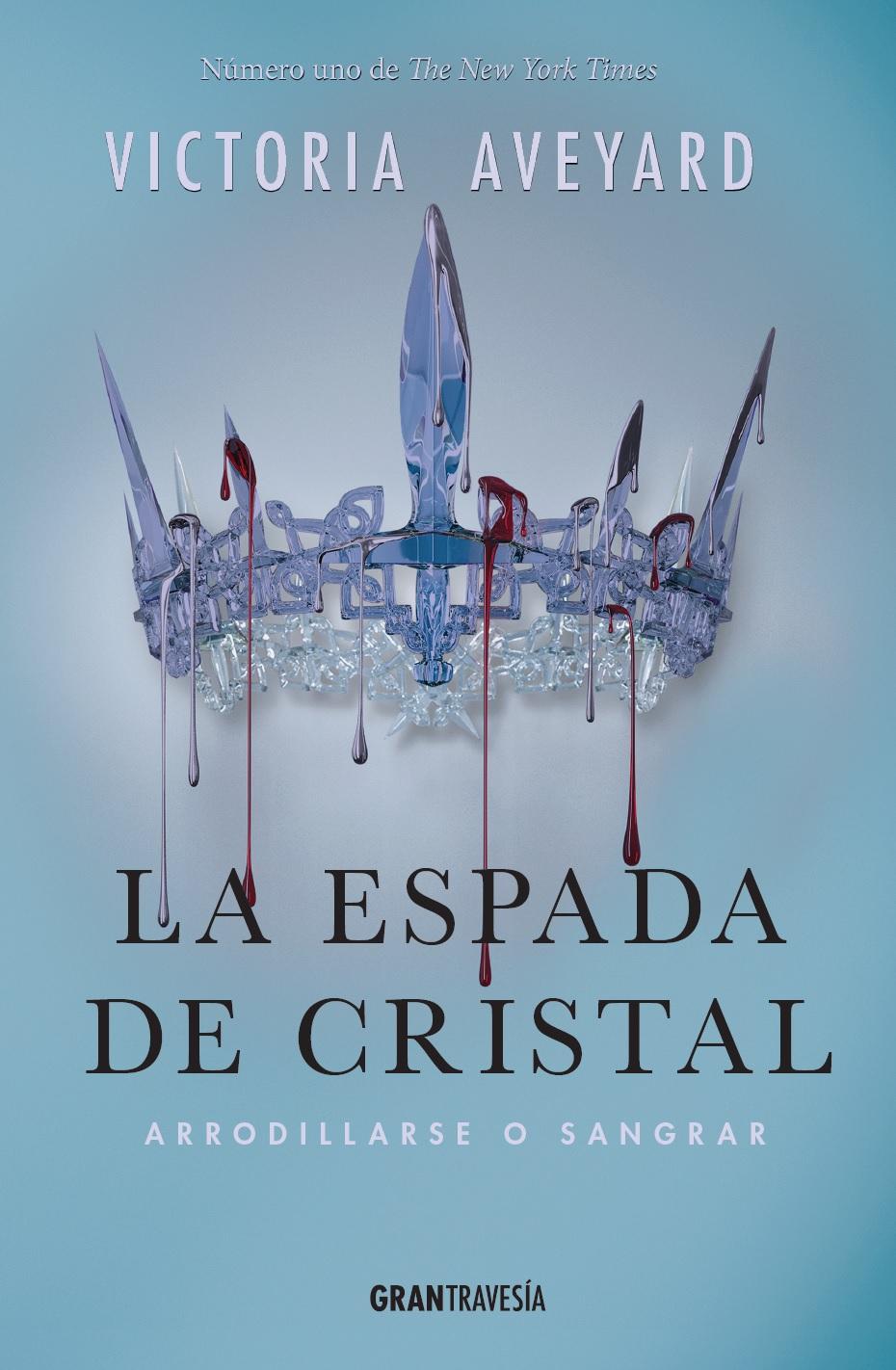 Resultado de imagen de portada la espada de cristal