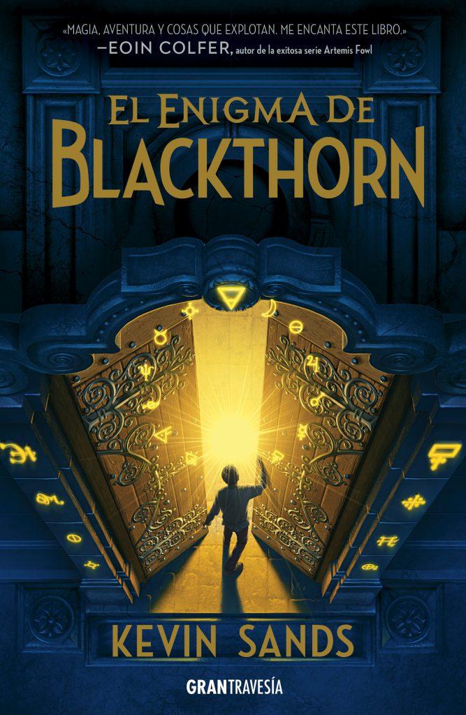 Portada de El enigma de Blackthorn
