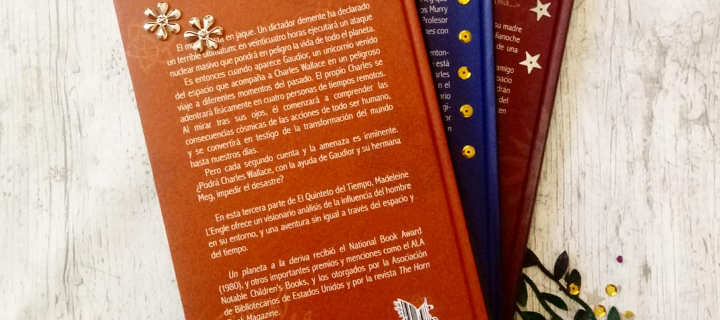 Las partes del libro 3- Contraportada